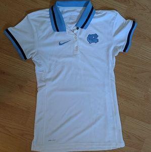 UNC Tar Heels Nike Polo